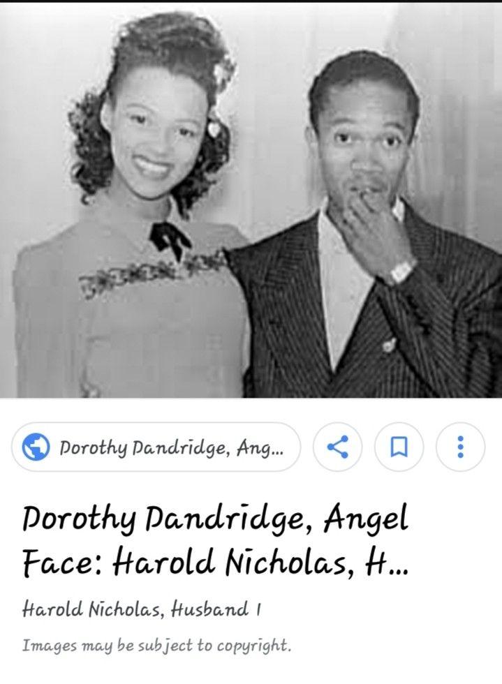 Dorthy Dandridge and Harold Nichols