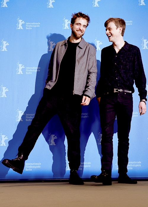 """dehaanradcliffe: """"Robert Pattinson and Dane DeHaan at the Berlinale 2015 Film Festival for Life """""""