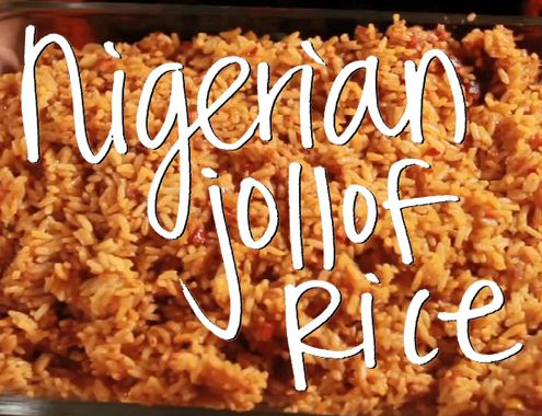 Affiong Utuk prepares her jollof rice with tomato paste, chicken bouillon and lots of crushed red pepper that gives her version a spicy kick.