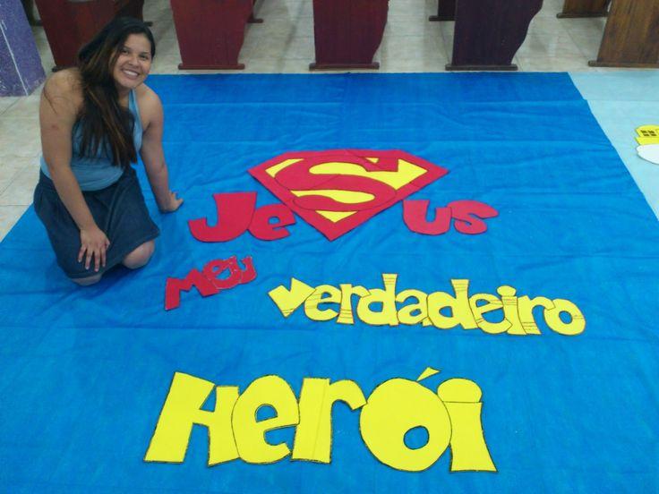 Resultado de imagem para jesus e os super herois
