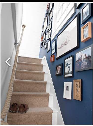 narrow staircase More