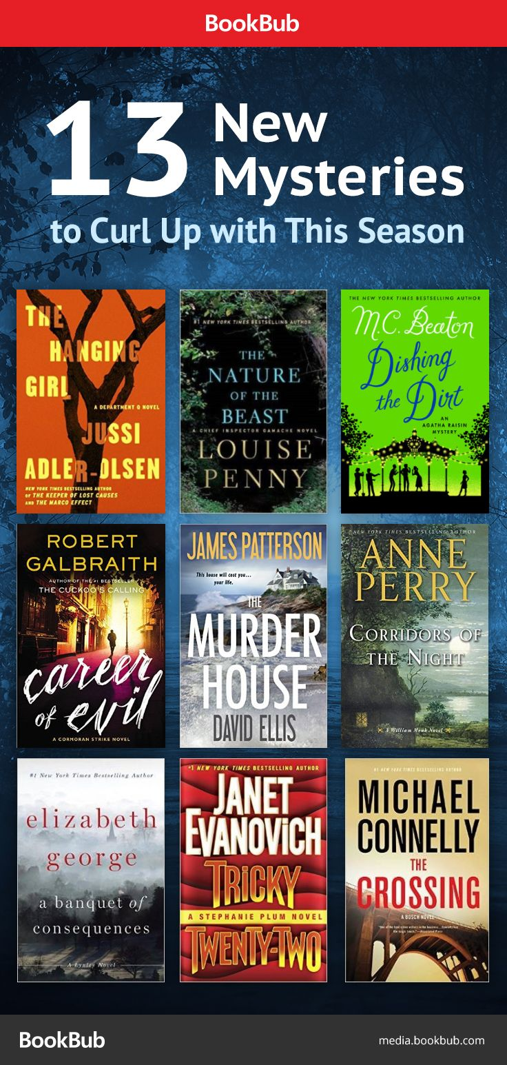 13 Mystery Books Worth Reading This Fall