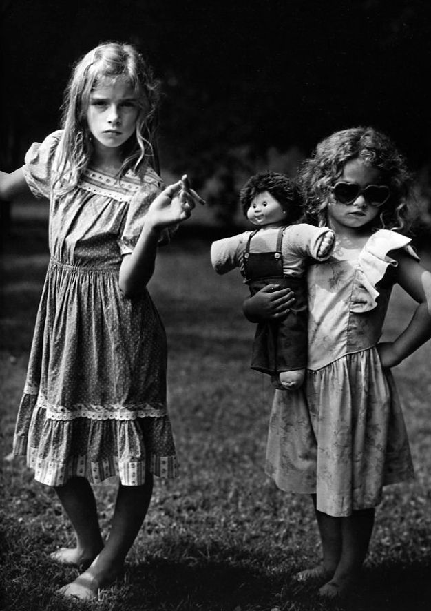 Sally Mann I repinned this beacaue it was also made by one of my favorite photographers, Sally Mann. This is from the immediate family series and really shows how she tried to capture her children's personalities while reflecting real life situations.