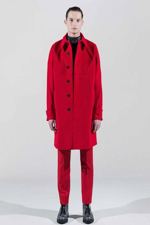 Belgian fashion designer Edmund Ooi at Pitti Immagine Uomo 86