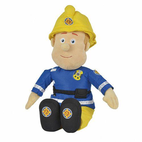 Brandweerman Sam Pluche 45 Cm