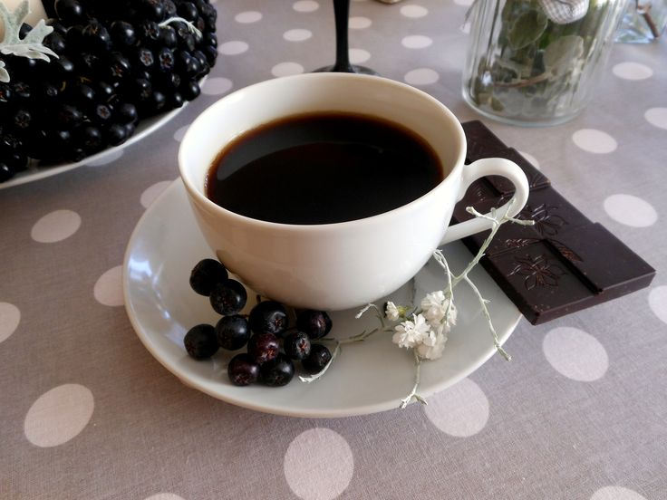 chokeberry (aronia) coffee time