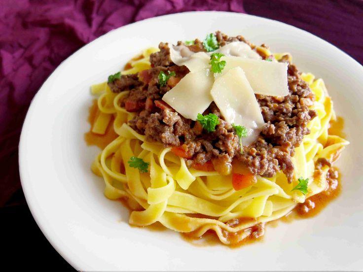 Pravá boloňská omáčka z mletého masa - Ochutnejte svět