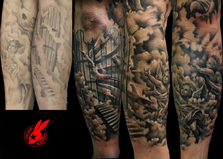 Tattoo clouds shading google zoeken tattoo pinterest for Stairway to heaven tattoo chest