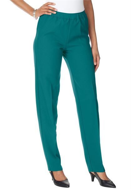 Bend Over Super Stretch Pull-on Pants | Plus Size Pants | Roamans