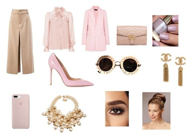 """""""Untitled #24"""" by gabygabi07 on Polyvore featuring Temperley London, Gucci, Joseph and Chloé"""