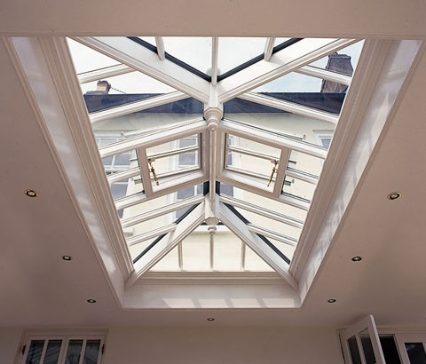 lantern roof for kitchen extension