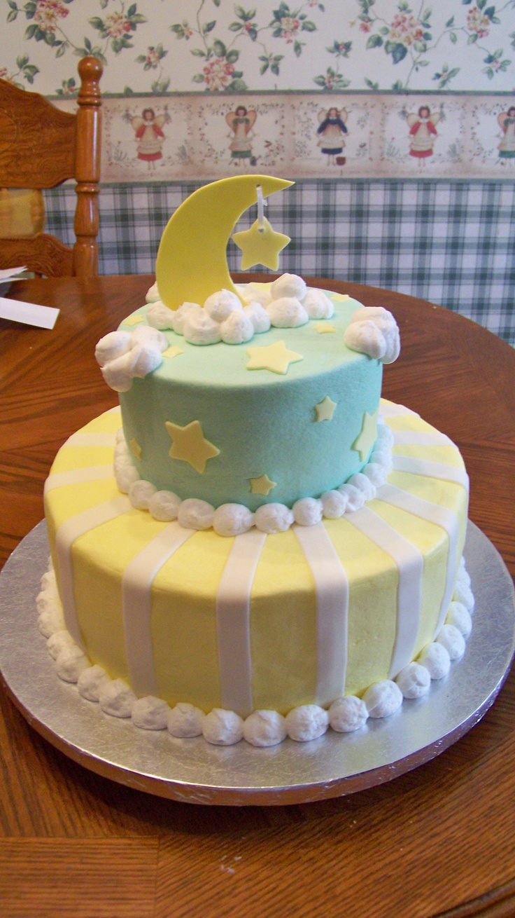 baby shower ideas baby moon moon cake cake baby baby shower cloud star