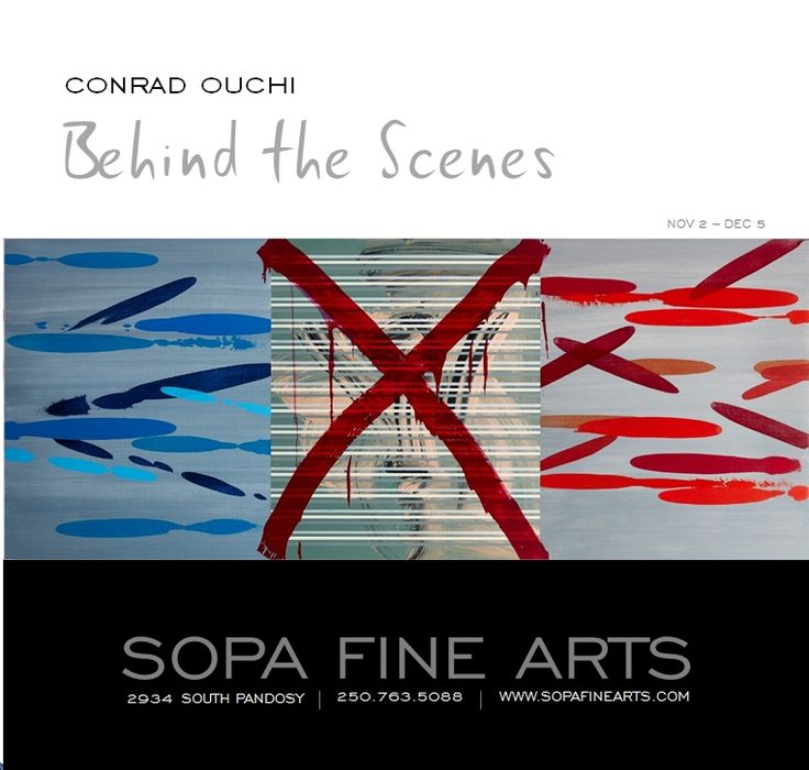 Behind the Scenes - Conrad Ouchi