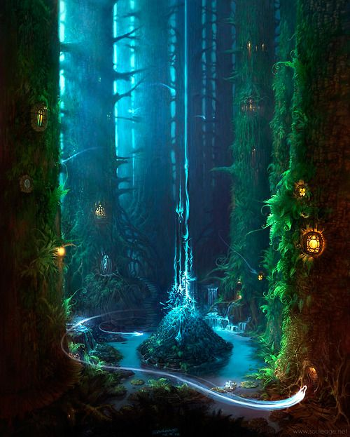 ...castle to forests it travels and makes places even more wonderful and fills it with magic...
