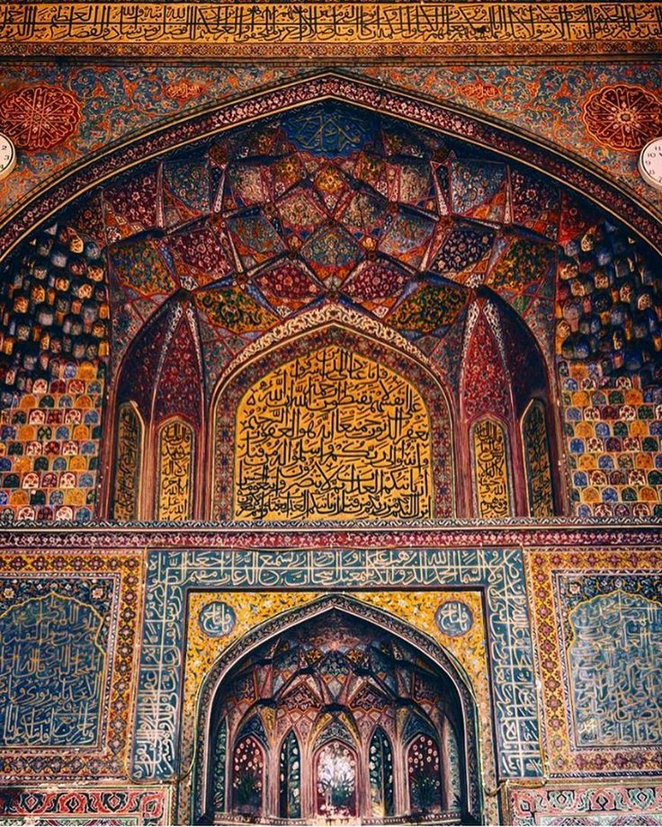 """""""Faith is all we need to get through difficult times."""" The Wazir Khan Mosque in Lahore Pakistan is famous for its extensive faience tile work. It has been described as 'a mole on the cheek of Lahore'. It was built in seven years starting around 16341635 AD during the reign of the Mughal Emperor Shah Jehan. It was built by Hakim Shaikh Ilm-ud-din Ansari a native of Chiniot who rose to be the court physician to Shah Jahan and a governor of Lahore. He was commonly known as Wazir Khan a popular…"""