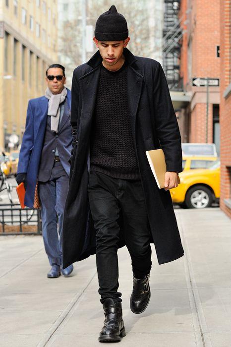 38 best all black men 39 s images on pinterest street fashion fashion street styles and men fashion. Black Bedroom Furniture Sets. Home Design Ideas