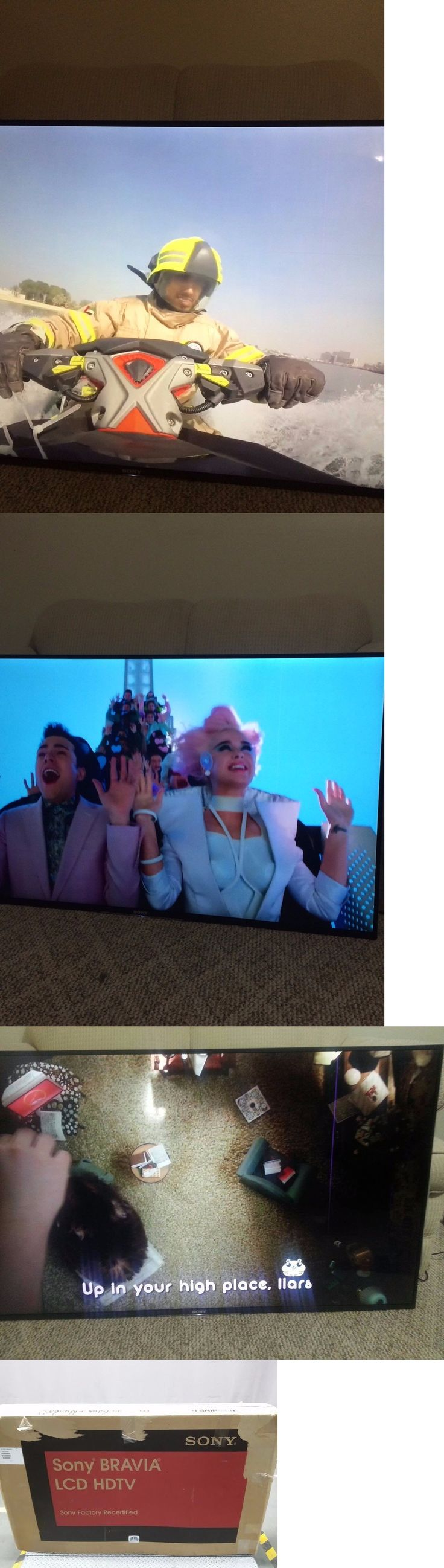 Televisions: Sony Xbr55x850d 55 4K Hdr Ultra Hd Smart Tv With Wifi Open Box BUY IT NOW ONLY: $500.0
