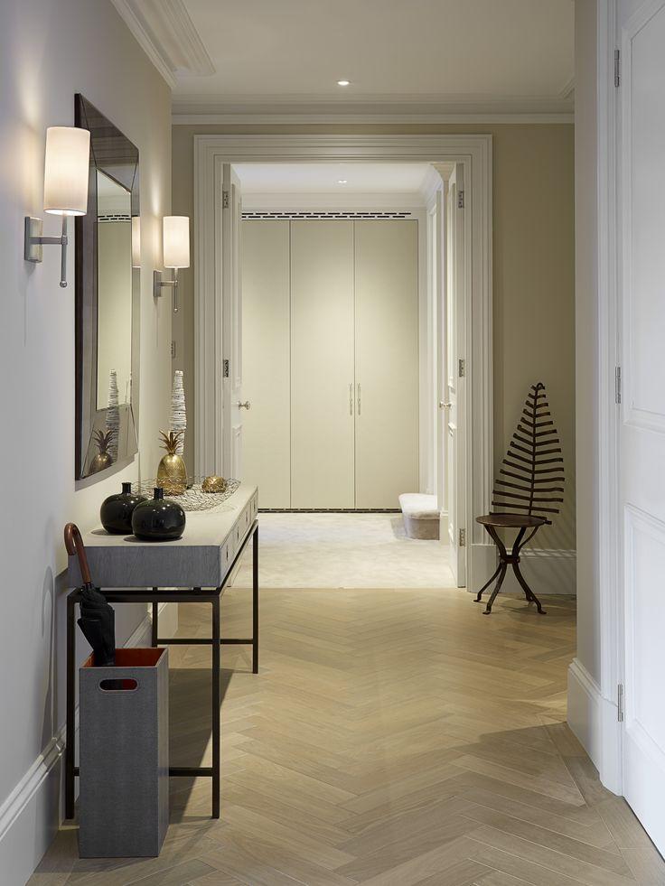 Entrance hall designed by Talia Cobbold Cadogan Court Development