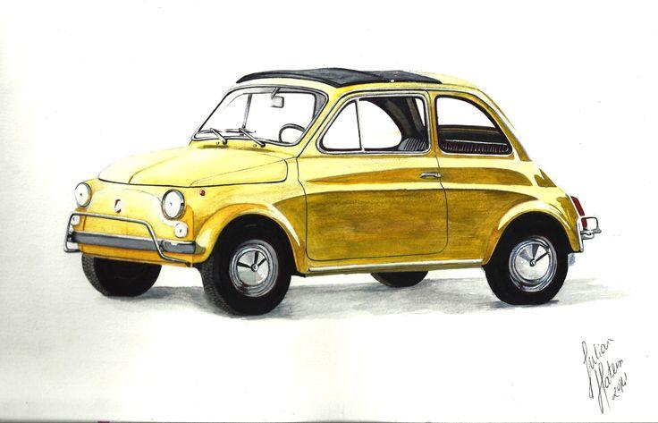"""""""!Fiat 500"""",JulianaMateus'2014'April"""
