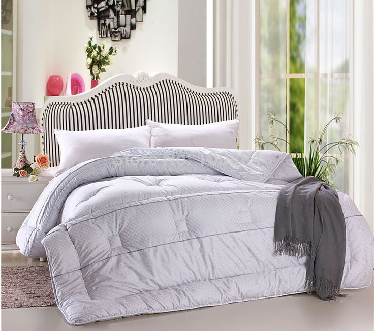 white quilt set queen king size,200*230cm queen size 3kg weight filler comforte bedding,queen winter bed quilt bedding