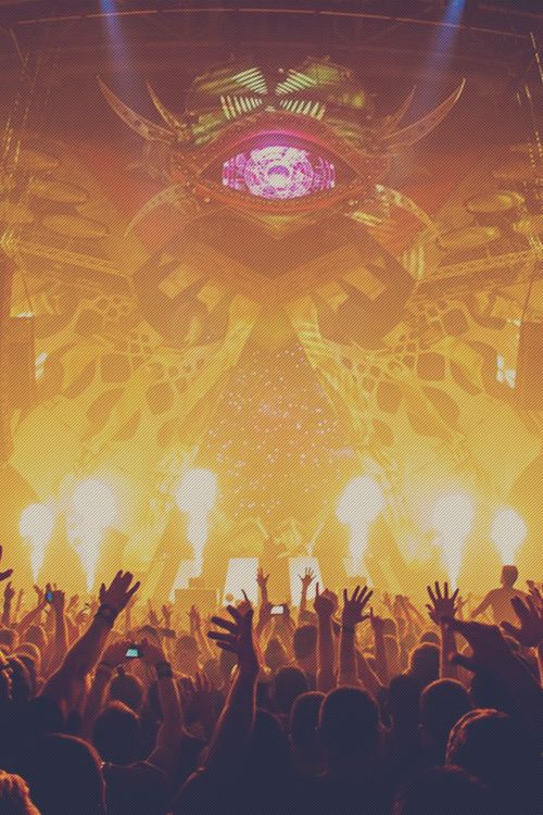 Awesome stage #rave #edm #festival