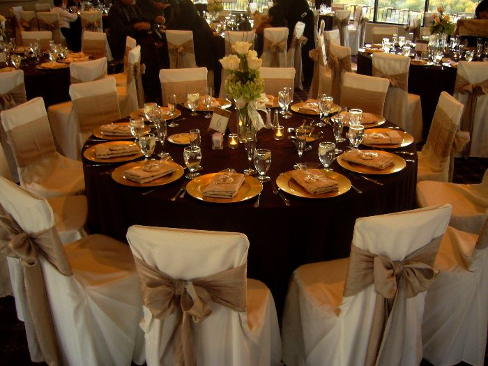 beautiful wedding table setting chair covers bows my tucson beautiful wedding tables & 31 best Chair Covers Canopy Rose Likes images on Pinterest ...