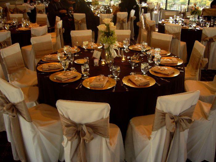 Rustic Outdoor Wedding Fall Reception Table Decor