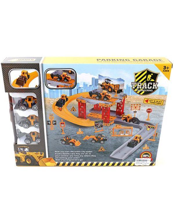 Shantou Gepai Стройплощадка 2 уровня с 3 машинами