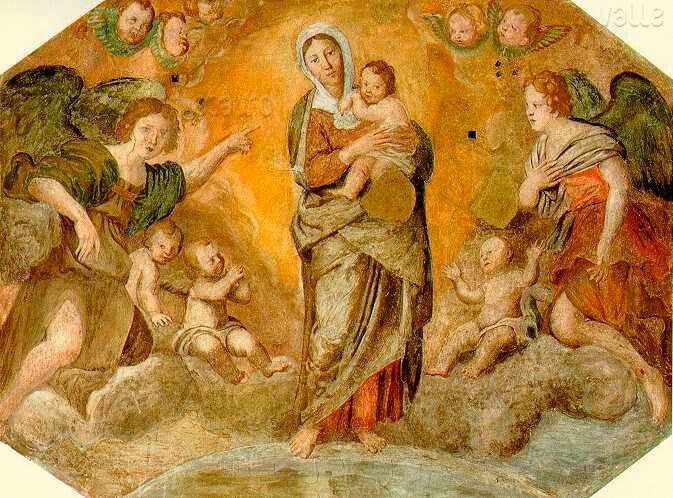 1618. Cappella Nolfi nel Duomo di Fano