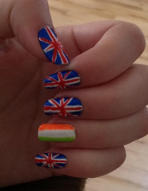 Bobby's One Direction Nails!