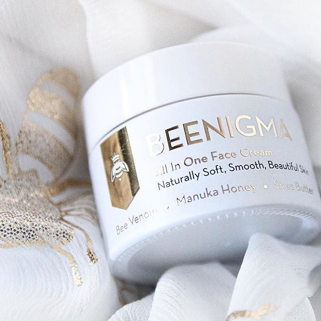 """One of our favourite customer snaps, thanks Elise! Don't forget to tag Beenigma in your shots.  @elisebysouthmakeup said """"My skin has been feeling soooo smooth after using the @beenigma All In One Face Cream """""""