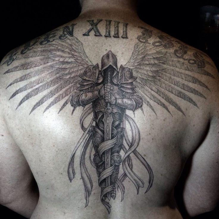 Engel Tattoo von www.lm6d.com   – Tattoo ideen