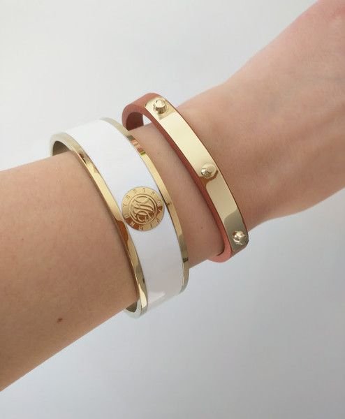Dyrberg/Kern Armband - Jove Gold & White - Luxedy - SALE!