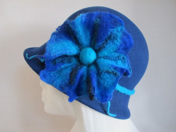 MADE TO ORDER in your colour: Hand blocked wool by eternalmagpie My amazing, fabulous hat