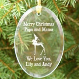 Personalised Glass Ornament