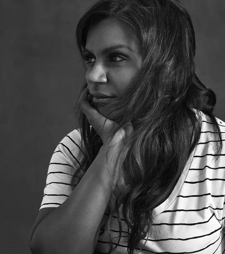 Mindy Kaling modeling for La Ligne 2016