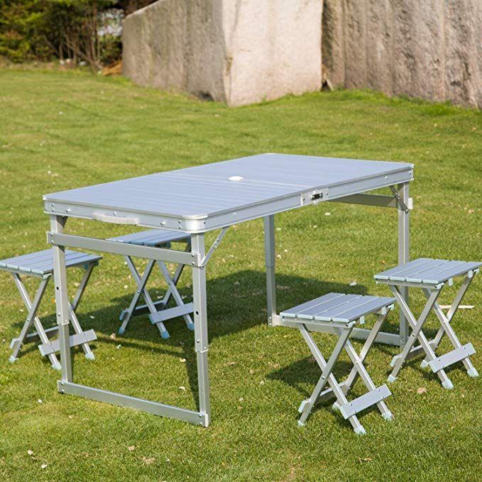 Admirable Peach Tree Aluminum Outdoor Portable Folding Camping Picnic Download Free Architecture Designs Scobabritishbridgeorg