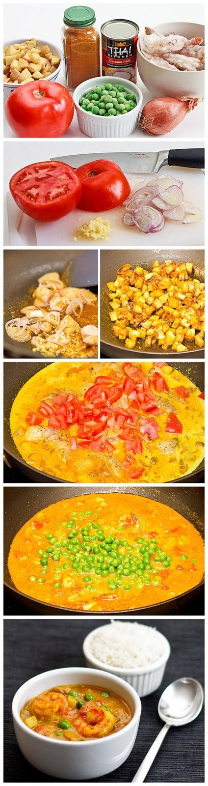 5star. Triple recipe and add 3 cans light coconut milk 1 cup milk 3 cups broth 1additional TB curry 1 1/2 tsp cayenne