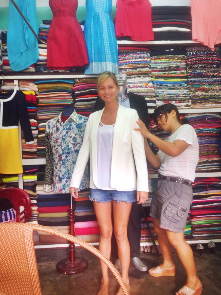 Learn how to get clothes tailored in Hoi An, Vietnam!