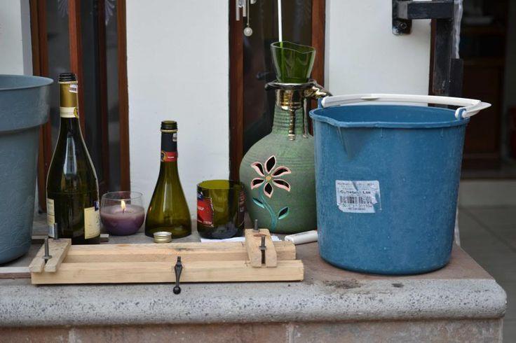 Cortando botellas de vidrio Versión 2.0 (DIY)   Turn to the Green side