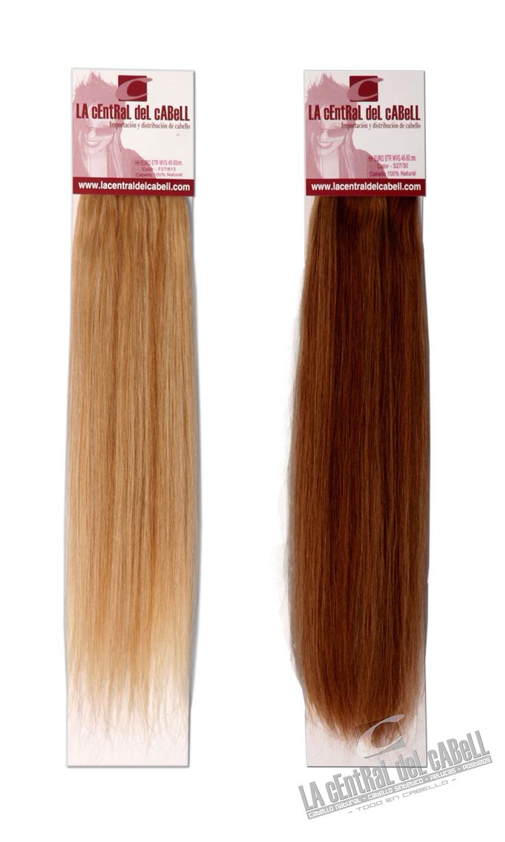 #Cabello 100% natural tejido, de altisima calidad, liso, 50cm. de largo por un ancho de cortina de 90cm. 80gramos de cabello