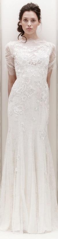 Jenny Packham Bridal 2013 - Mimosa wedding dress, bridal inspiration, White Wedding