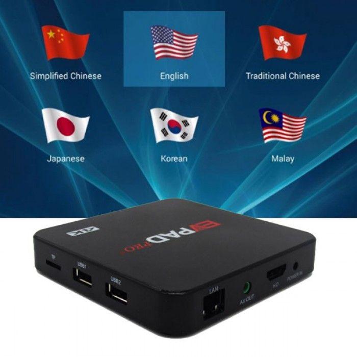 Smart Tv Box With Iptv Server Hdflix Pre Installed Enjoy Many Live Tv Channels Worldwide Iptvbox Smart Tv Tv Channels Satellite Receiver