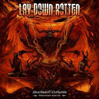 LAY DOWN ROTTEN – To Release New Album In January. #LAYDOWNROTTEN #DeathspellCatharsis #newalbum
