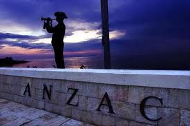 I WILL one day get to witness an ANZAC ceremony at Gallipoli.         **They went with songs to the battle, they were young. Straight of limb, true of eyes, steady and aglow.      They were staunch to the end against odds uncounted,      They fell with their faces to the foe.        They shall grow not old, as we that are left grow old:      Age shall not weary them, nor the years condemn.      At the going down of the sun and in the morning,      We will remember them.