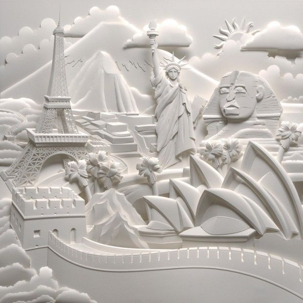 really nice paper illustrator. Will try to find name of artist.