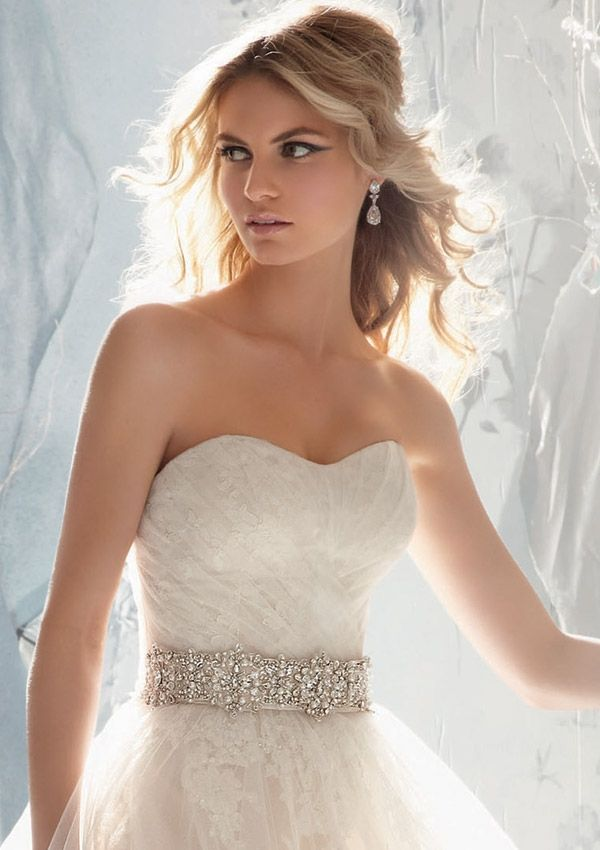 Wedding Bridal Gowns Accessories 11032 Beaded Satin Tie Sash Colors Available White Ivory Light Gold Stuff Pinterest And