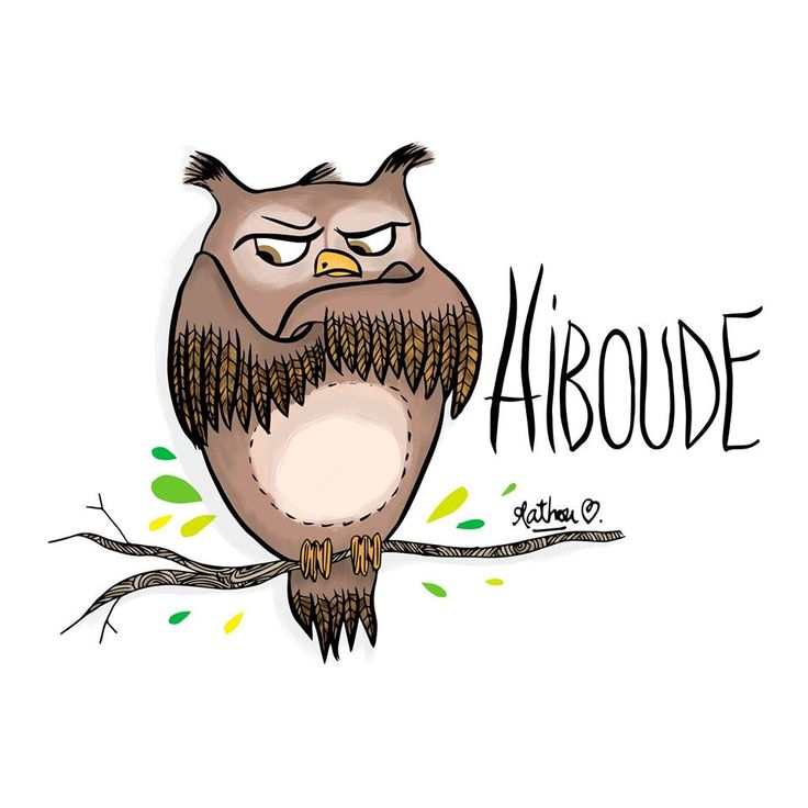 Hiboude by Crayon d'humeur