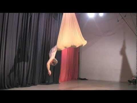 Lauren Breunig: Aerial Sling. Easily one of the prettiest things I've ever seen.