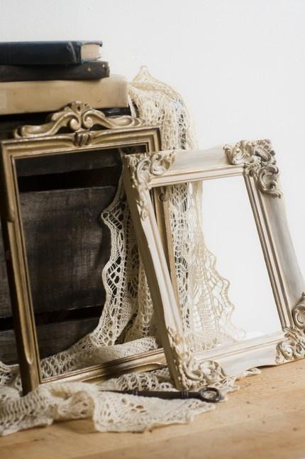 dalloway collection. vintage frames by cottagefarm